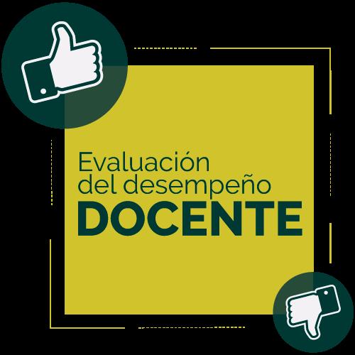 Apertura de plataforma: Evaluación Docente