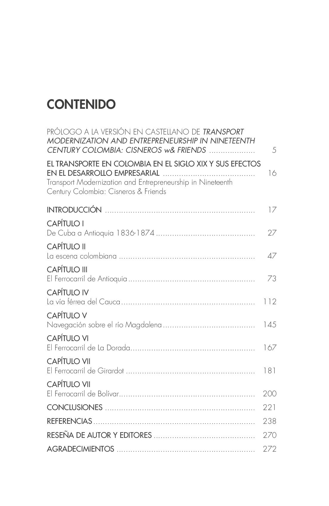 El Transporte En Colombia En El Siglo XIX Y Sus Efectos En El Desarrollo Empresarial