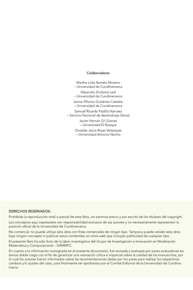 Compilaciones De Procesos De Investigación En Geometría, Estadística Y Sistemas Dinámicos